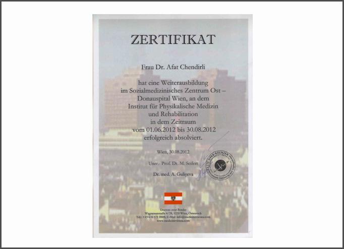 Дипломы и сертификаты Афет  Чандирли  hekimtap.az