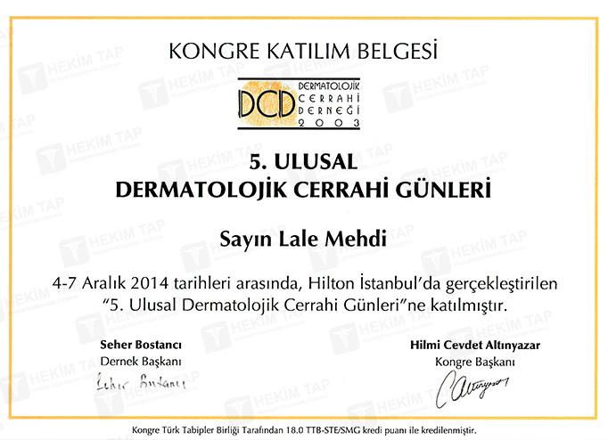 Dimplomlar və sertifikatlar  Lalə Mehdi hekimtap.az