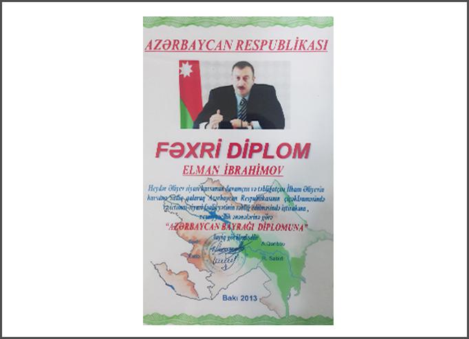 Dimplomlar və sertifikatlar Elman İbrahimov hekimtap.az