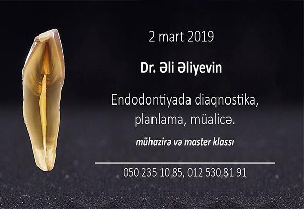 Master Klass-Endodontiyada diaqniostika və mülicənin əsas aspektləri  hekimtap.az