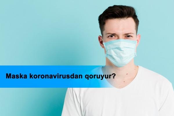 Maska koronavirusdan qoruyur?  hekimtap.az