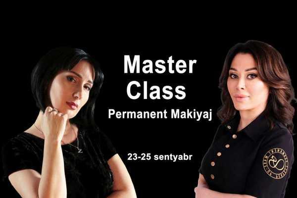 Master Class- Permanent makiyaj  hekimtap.az