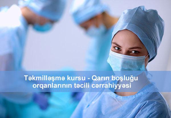 Qarın boşluğu orqanlarının təcili cərrahiyyəsi hekimtap.az