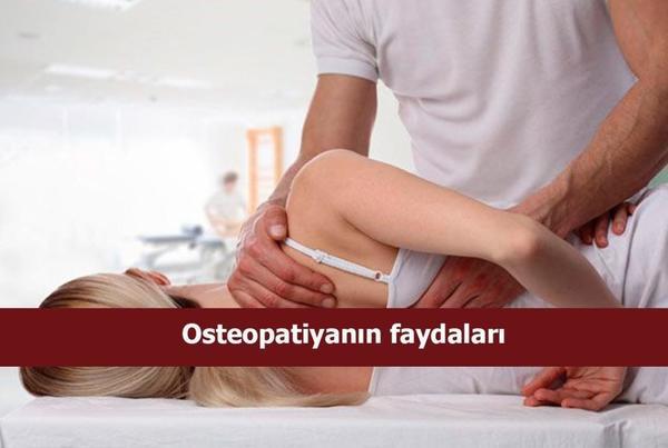Osteopatiyanın faydaları