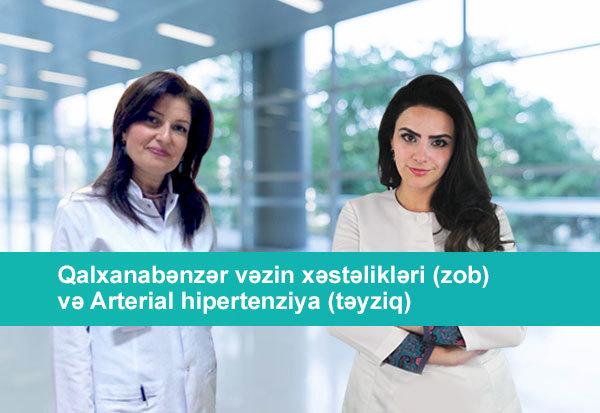 Qalxanabənzər vəzin xəstəlikləri və Arterial hipertoniya  hekimtap.az