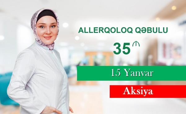 Allerqoloq qəbulu 35 manat hekimtap.az
