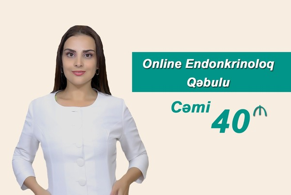 Online Endokrinoloq Qəbulu hekimtap.az