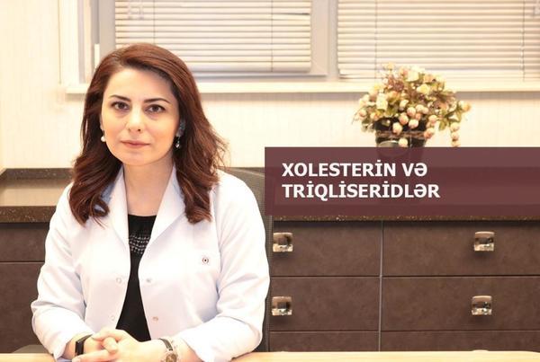 XOLESTERİN VƏ TRİQLİSERİDLƏR