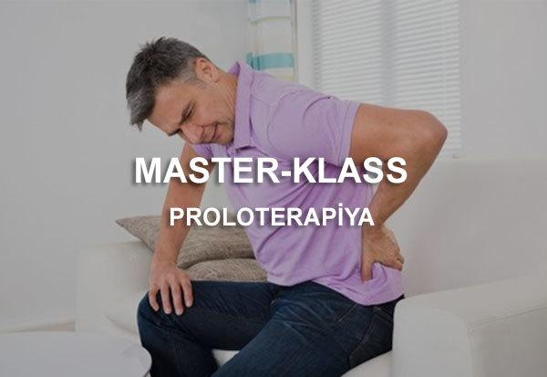 Bel ağrıları. Tunnel sindromları. Proloterapiya. Master-klass !  hekimtap.az