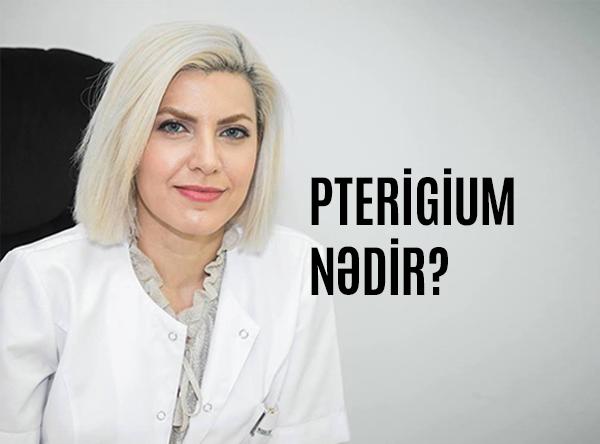 pterigium nədir
