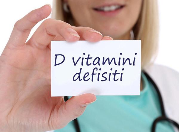 d vitamini defisitinin orqanizmə təsiri
