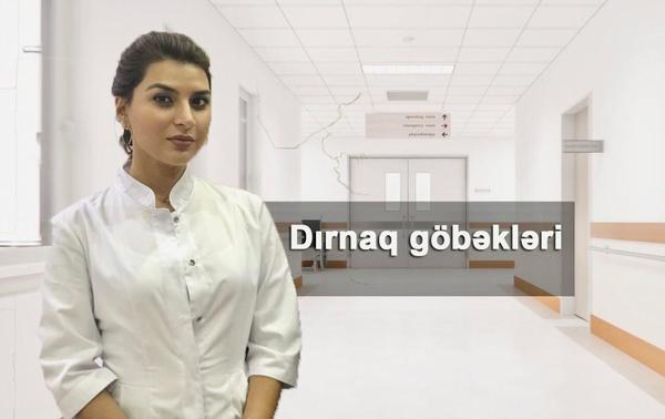 dırnaq göbəkləri
