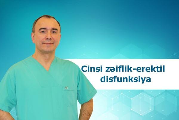 Cinsi zəiflik-erektil disfunksiya