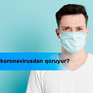 Maska koronavirusdan qoruyur?