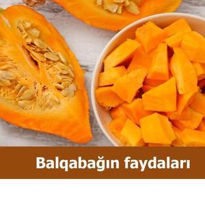 Balqabağın faydaları